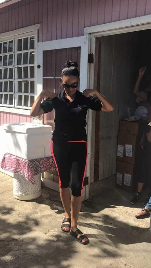 Maria -lider comunitaria San Isidro en Canovanas 1