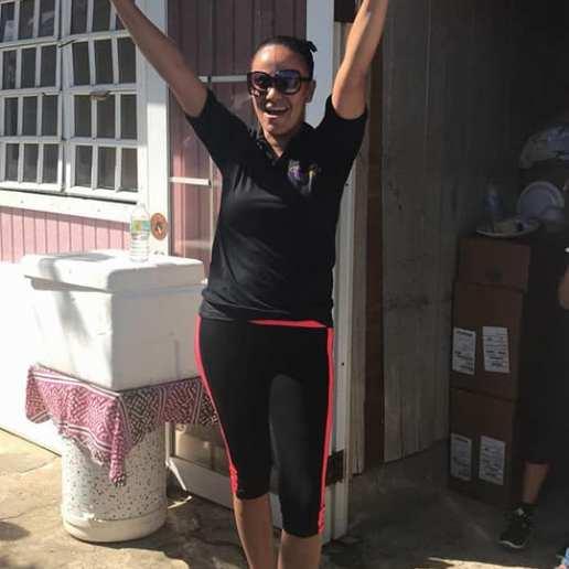 Maria -lider comunitaria San Isidro en Canovanas 2