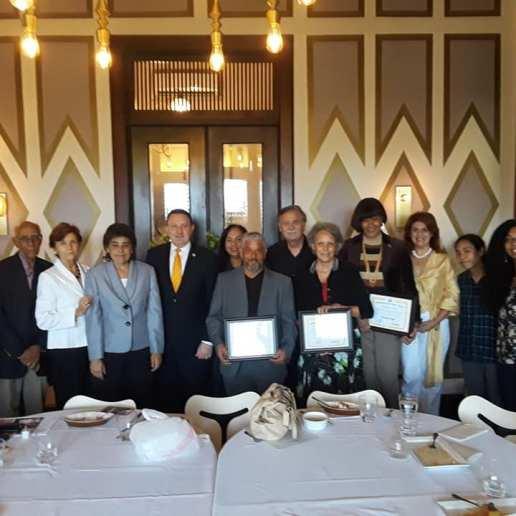 Universal Peace Federation reconocimiento 2018