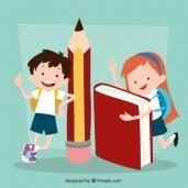 ninos-con-material-escolar_23-2147665765